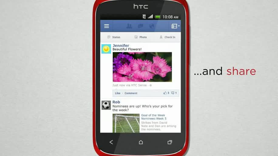 Smartphone, Htc, Android 4.0, Ice Cream Sandwich, Desire, HTC Desire C, Desire C