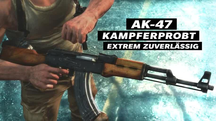 Trailer, Shooter, Rockstar Games, Rockstar, Max Payne 3, Max Payne, Sturmgewehr