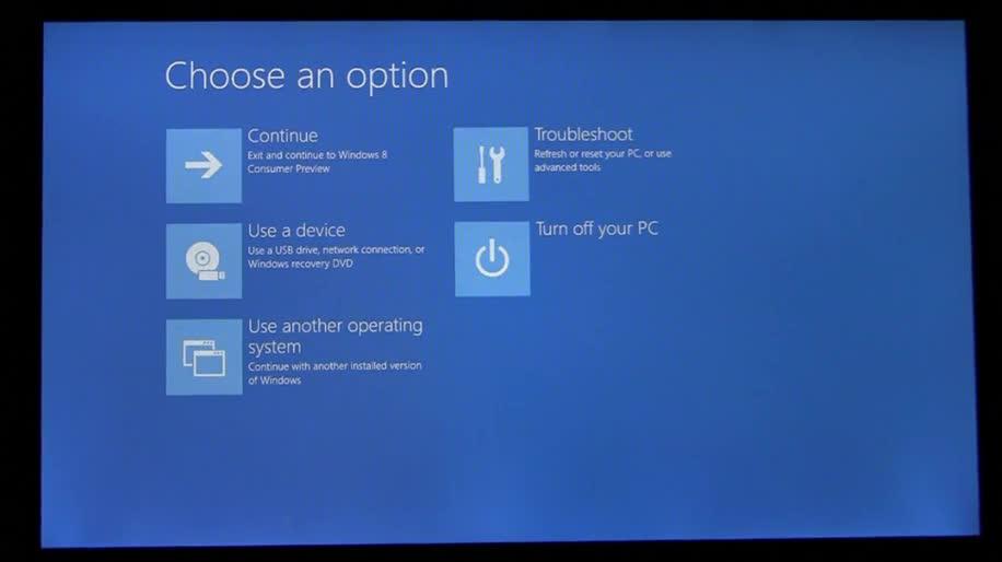 Microsoft, Betriebssystem, Windows 8, Metro, Boot, Uefi, Booten