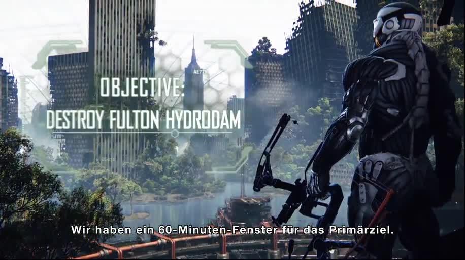 Trailer, E3, Crytek, Crysis, E3 2012, Crysis 3, Cryengine 3