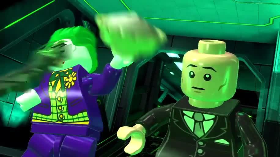 Trailer, E3, Warner Bros., Lego, E3 2012, LEGO Batman, LEGO Batman 2, DC Superheroes
