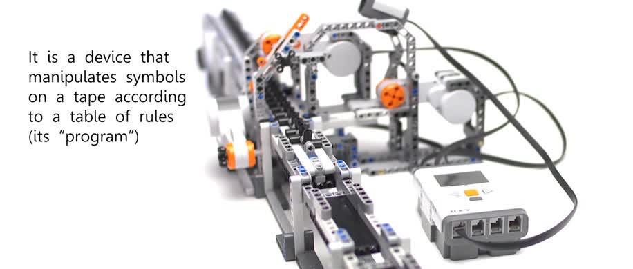 Wissenschaft, Informatik, Lego, Alan Turing, Mindstorm, Turing-Maschine