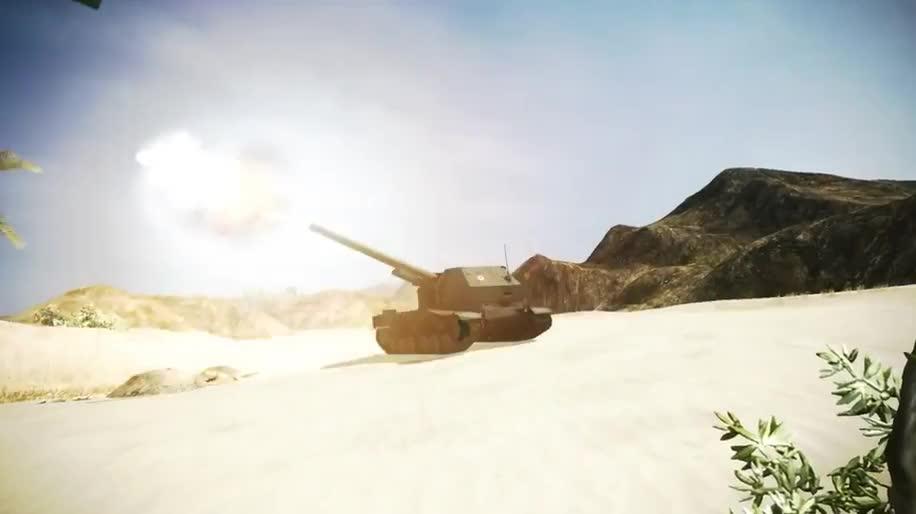 Trailer, World of Tanks, Wargaming.net