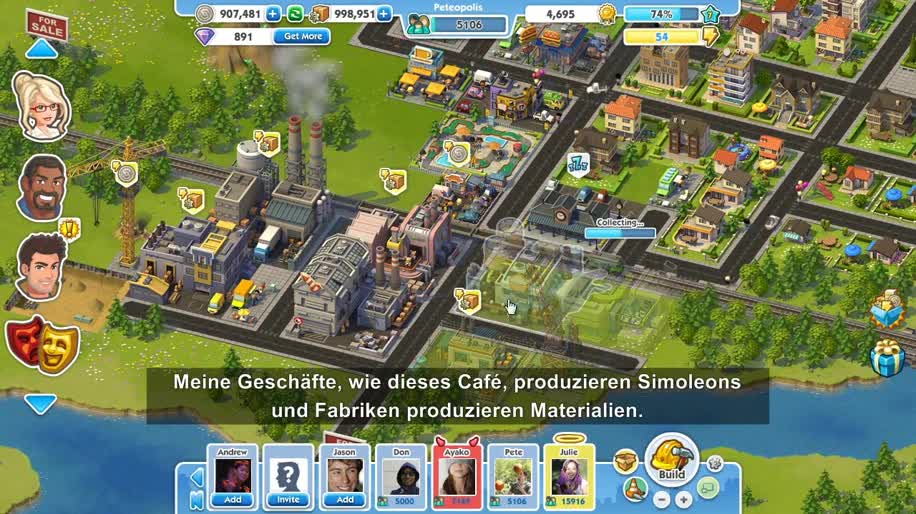 Facebook, Electronic Arts, Ea, Simcity, Browser-Spiel, SimCity Social