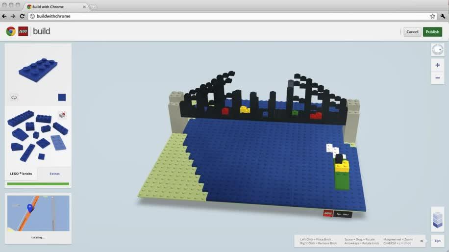 Google, Build, Maps, Google Maps, Lego