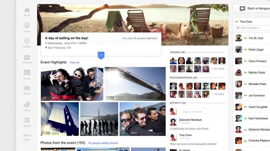 Google, Social Network, soziales Netzwerk, Google+, Google I/O, Events