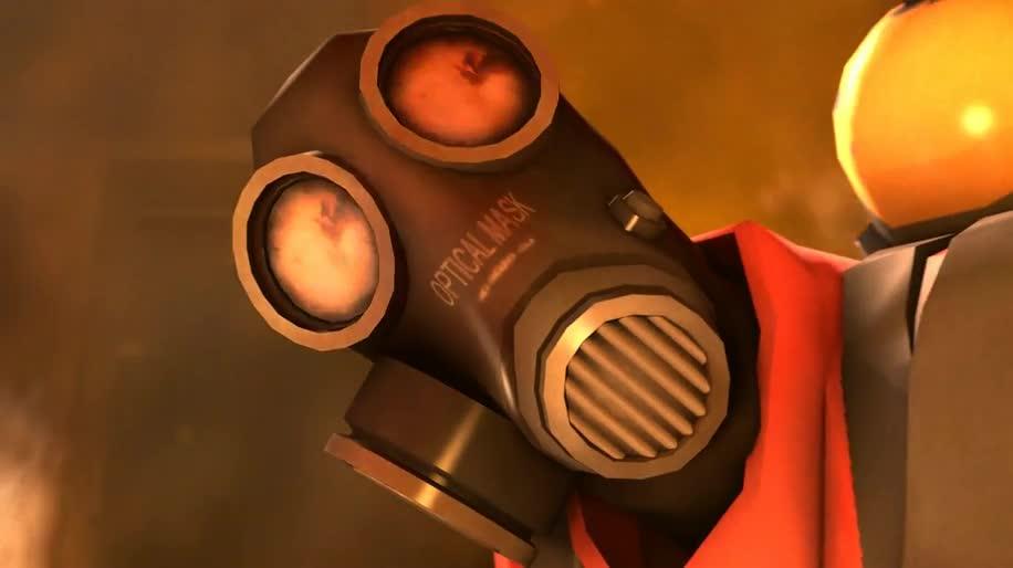 Trailer, Steam, Valve, Team Fortress 2, Pyro