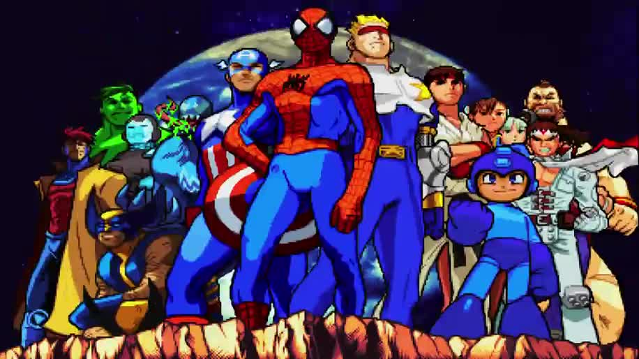 Trailer, Capcom, Marvel, Neuauflage, Marvel vs. Capcom, Marvel Super Heroes, Marvel vs. Capcom Origins, Clash of Super Heroes