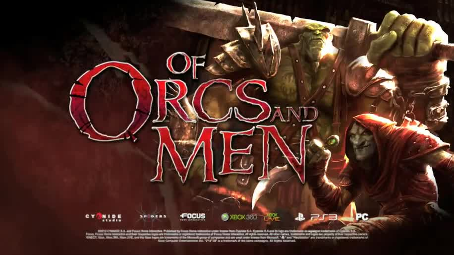 Trailer, Focus Interactive, Of Orcs and Men, Cyanide