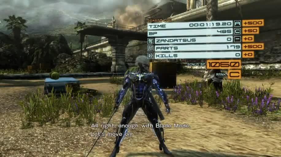 E3, Gameplay, Konami, E3 2012, Metal Gear Solid, Metal Gear Rising: Revengeance