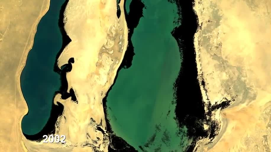 Google, Satellitenbilder, Landsat, Google Earth Engine, Aralsee