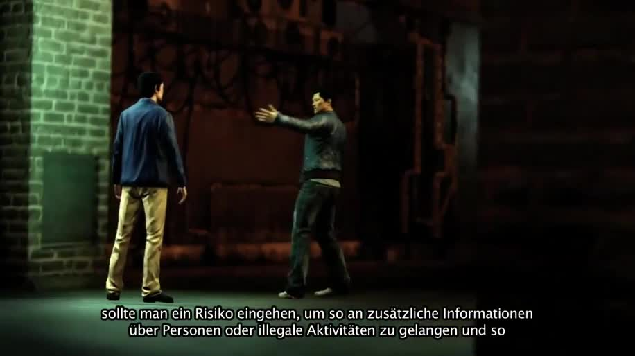 Gameplay, Square Enix, Sleeping Dogs