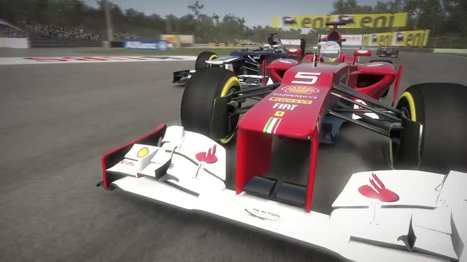 Trailer, Codemasters, Formel 1, F1 2012