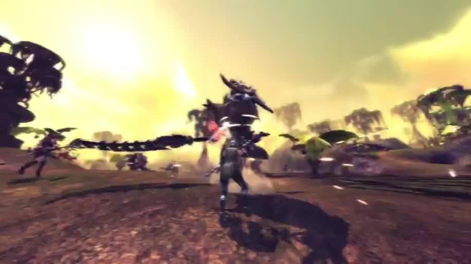 Trailer, RaiderZ, Gameforge