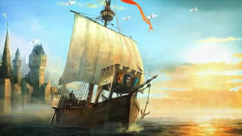 Trailer, Ubisoft, Gamescom, Free-to-Play, Gamescom 2012, Anno, Blue Byte, Anno Online