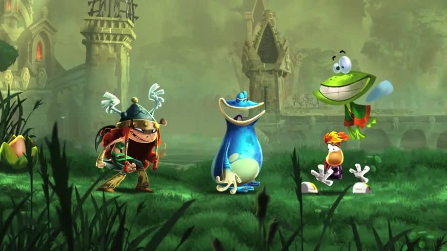 Trailer, Ubisoft, Gamescom, Wii U, Gamescom 2012, Rayman, Rayman Legends