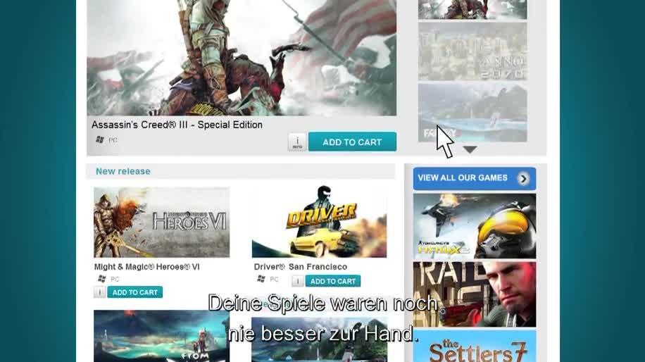Ubisoft, Client, Uplay, Ubisoft DRM, Ubisoft Game Launcher