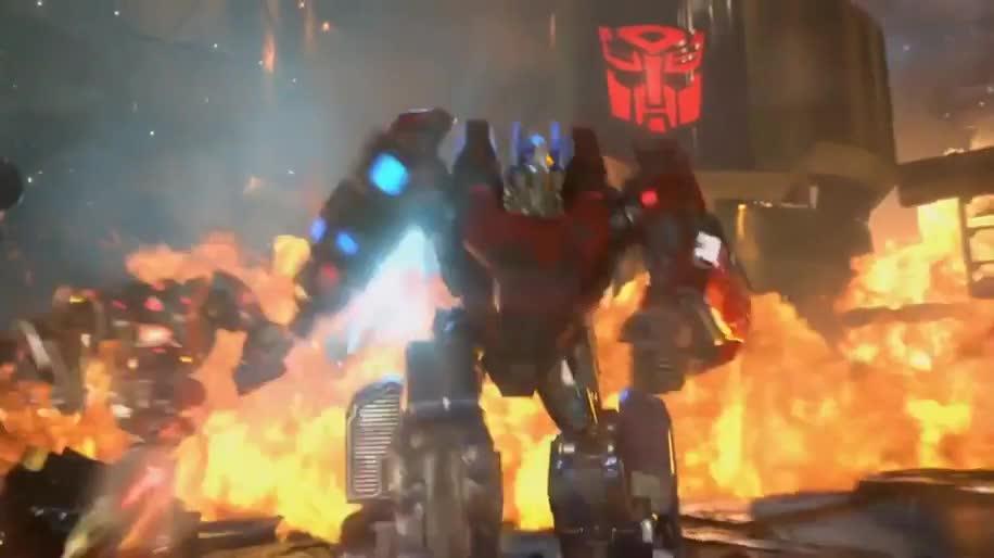 Trailer, Activision Blizzard, Transformers, Fall of Cybertron, Untergang von Cybertron