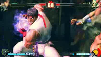 Street Fighter, Ingame