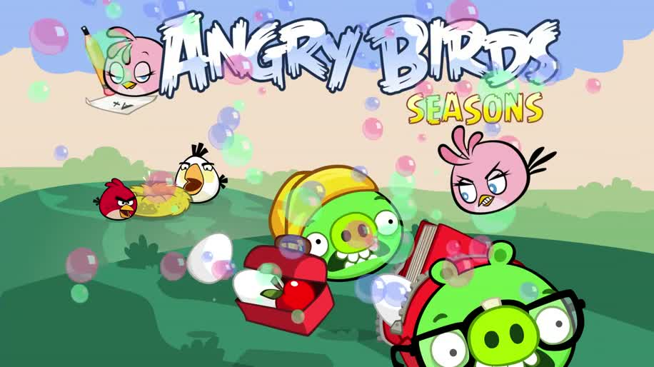 Trailer, Angry Birds, Rovio, Angry Birds Season, Back To School