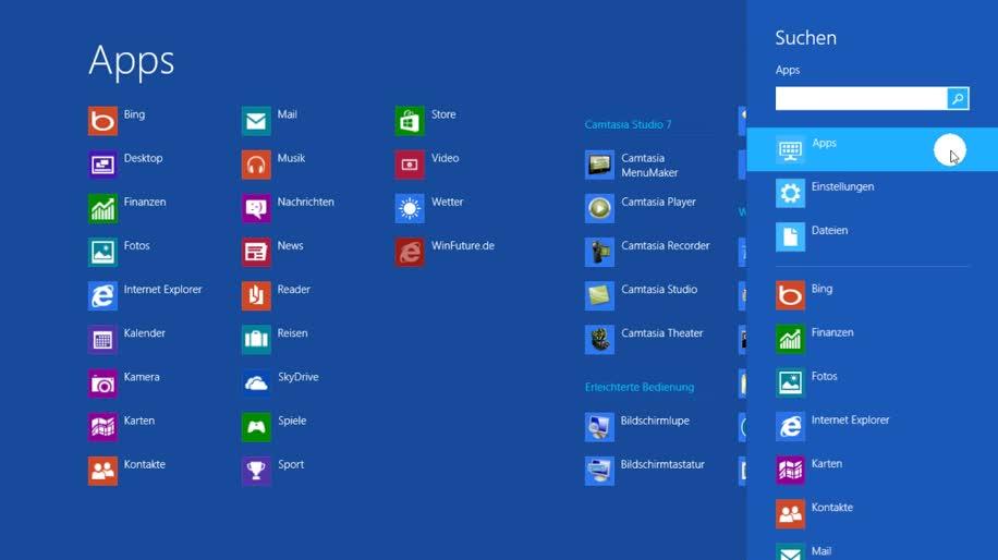 Betriebssystem, Windows 8, Metro, Startmenü, Rtm, Metro UI, Demo, Final, modern ui, Windows 8 Rundgang, Charmbar