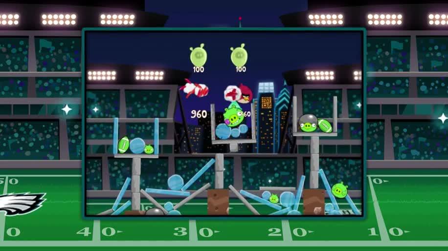 Trailer, Angry Birds, Rovio, Football, Philadelphia Eagles