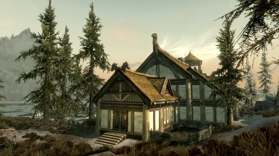 Trailer, Dlc, Bethesda, Skyrim, The Elder Scrolls V, Hearthfire