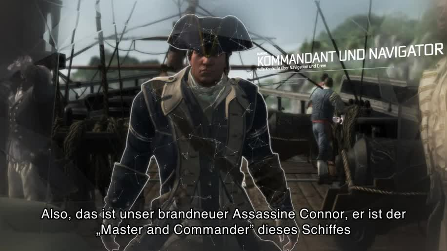 Trailer, Gameplay, Ubisoft, Assassin's Creed, Assassin's Creed 3
