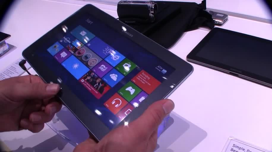 Tablet, Samsung, Ifa, Windows RT, Tablet-PC, Ifa 2012, Ativ Tab, Samsung Ativ Tab