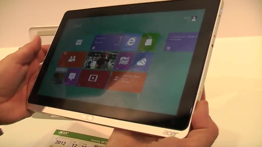 Tablet, Windows 8, Hands-On, Ifa, Acer, Full Hd, Ifa 2012, Iconia Tab, 1920x1080, Acer Iconia Tab W700, W700