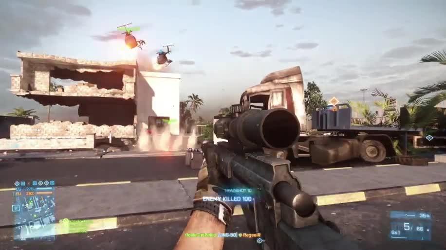 Trailer, Electronic Arts, Ea, Battlefield, Dice, Battlefield 3, Armored Kill