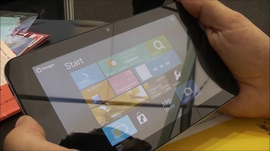 Android, Tablet, Windows 8, Hands-On, Ifa, Interface, Ui, Oberfläche, Android 4.0, Ice Cream Sandwich, Ifa 2012, Cube, U30GT mini