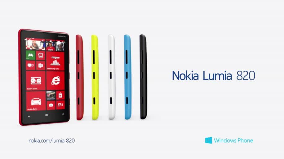 Smartphone, Nokia, Windows Phone 8, Lumia, Nokia Lumia 820