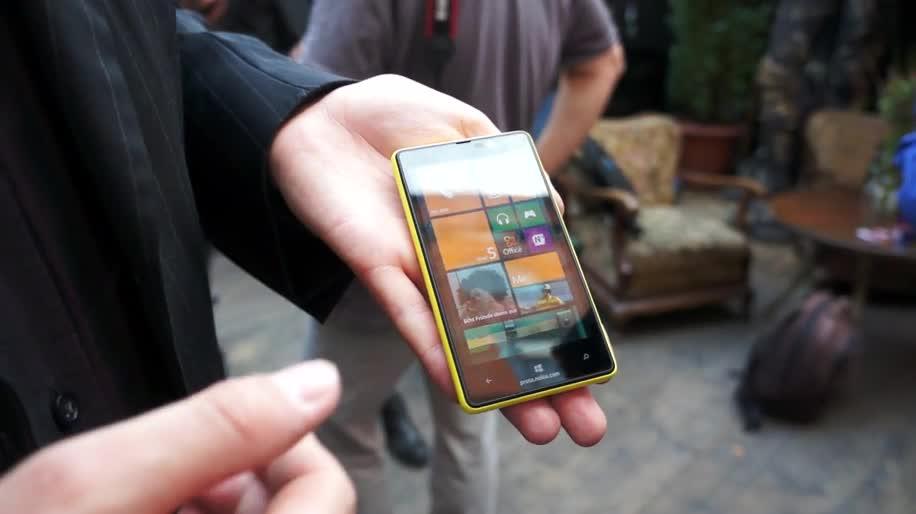 Microsoft, Smartphone, Windows Phone, Nokia, Handy, Windows Phone 8, Lumia, Hands-On, WP8, Nokia Lumia 820, Lumia 820