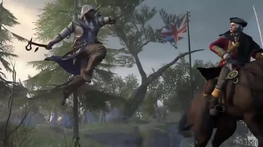 Werbespot, Ubisoft, Assassin's Creed, Assassin's Creed 3