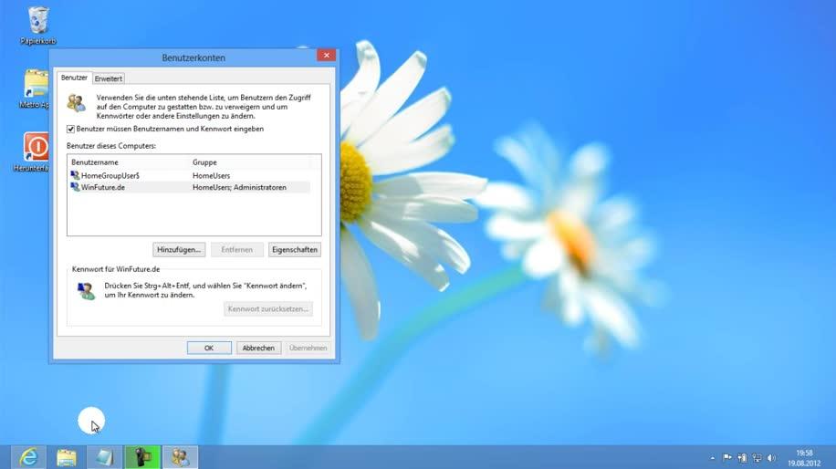 Microsoft, Betriebssystem, Windows, Windows 8, Interface, Ui, Benutzeroberfläche, Windows 8 Rundgang, Benutzerkontensteuerung