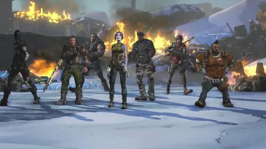Trailer, Ego-Shooter, 2K Games, Borderlands, Borderlands 2