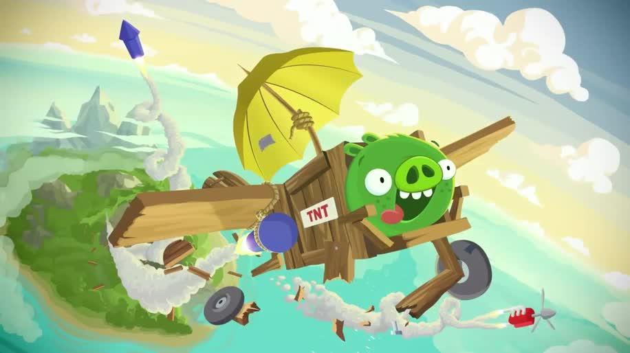 Trailer, Angry Birds, Rovio, Bad Piggies