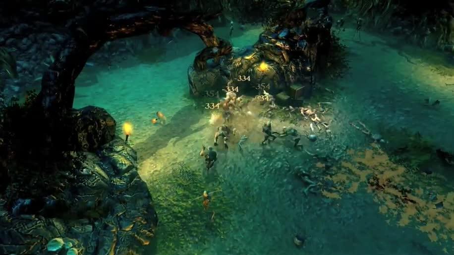 Trailer, Rollenspiel, hack'n'slay, Realms of Ancient War, R.A.W.