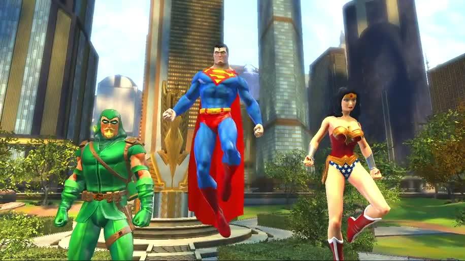 Trailer, Sony, Mmorpg, DC Universe Online