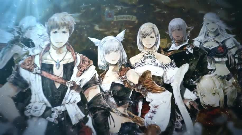 Trailer, Online-Spiele, Mmo, Mmorpg, Square Enix, Online-Rollenspiel, Final Fantasy, TGS, Final Fantasy XIV, A Realm Reborn, TGS 2012