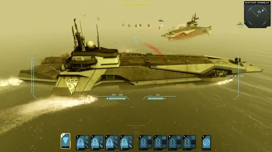 Trailer, Bohemia Interactive, Carrier Command, Gaea Mission