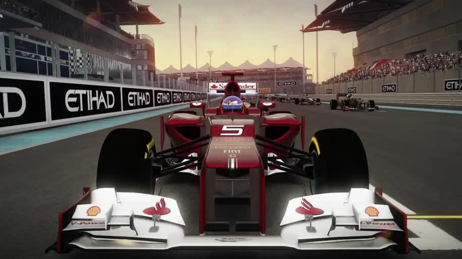 Trailer, Formel 1, F1, F1 2012