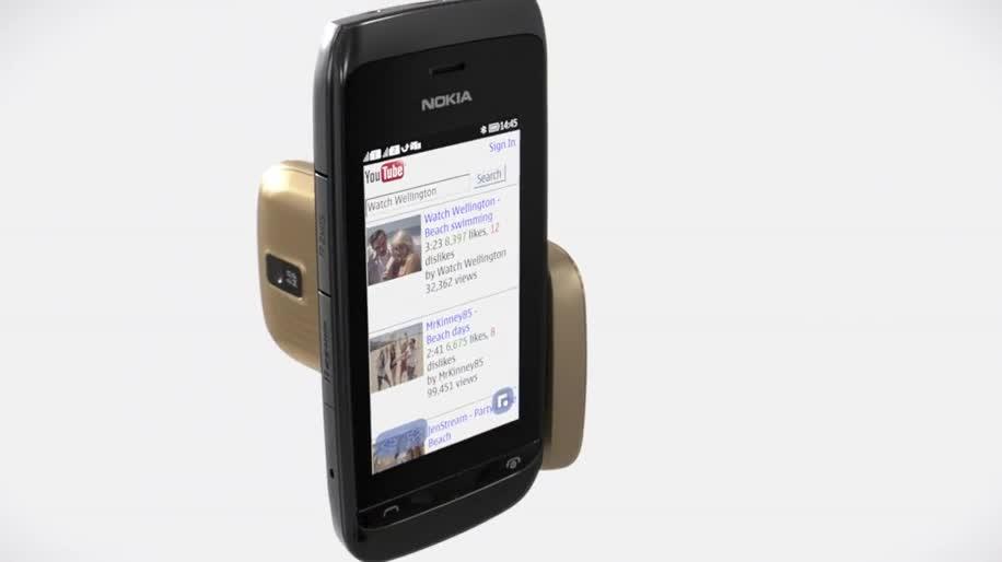 Nokia, Asha, Asha Touch, Asha 308