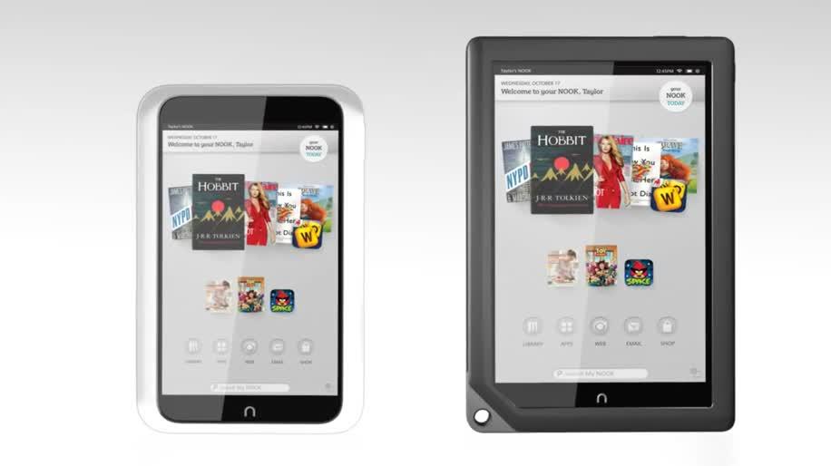 Tablet-PC, Barnes & Noble, Nook, Nook HD, Nook HD+