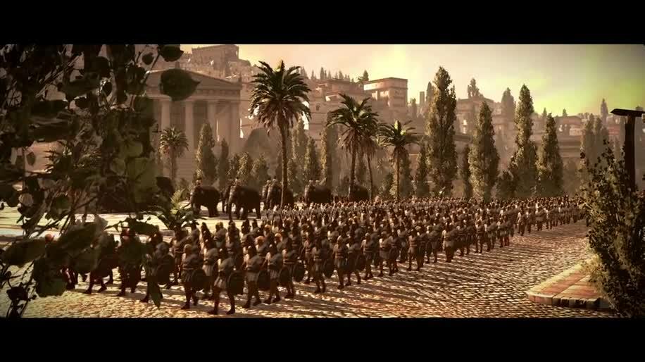 Trailer, SEGA, Total War, Total War: Rome 2