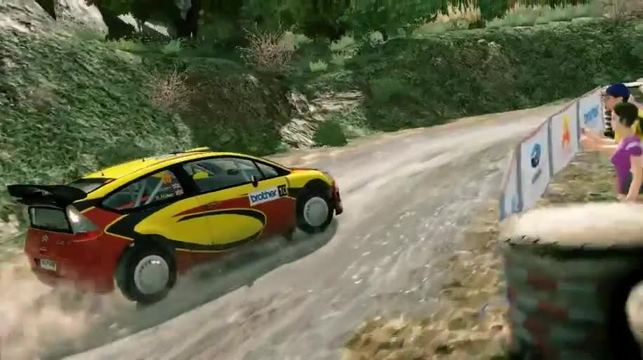 Trailer, Rennspiel, Milestone, WRC, WRC 3