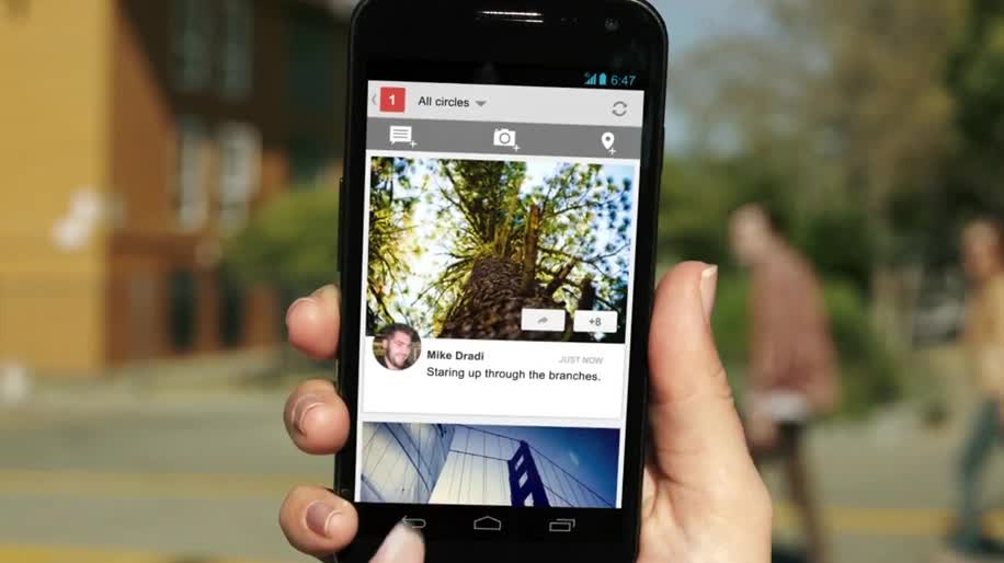 Smartphone, Google, Android, Social Network, soziales Netzwerk, Google+, Videotelefonie
