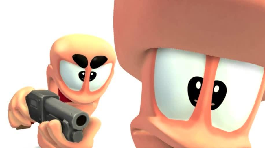 Trailer, Team 17, Worms, Worms Revolution