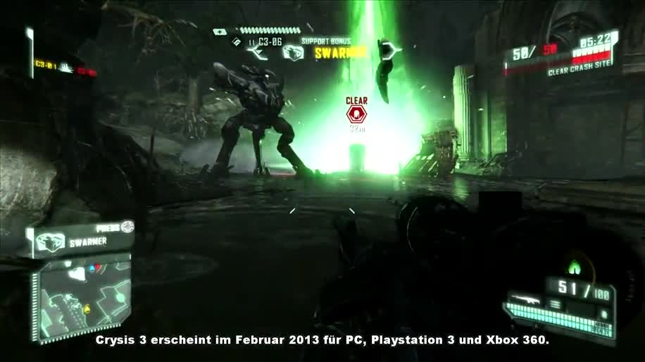 Trailer, Electronic Arts, Ego-Shooter, Ea, Multiplayer, Crytek, Crysis, Crysis 3, Cryengine 3